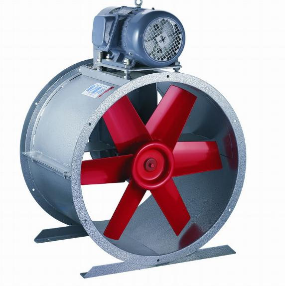 Axial Axial Blower Fans : Belt driven type axial fan