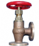 JIS F7352 5K Marine bronze screw down check angle valve