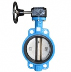 F7480 Marine worm gear wafer butterfly valve