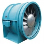 DTF (R) Series reversible subway tunnel axial fan