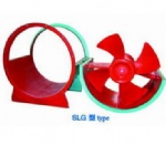 SLG series Industrial low noise swing-out axial fan