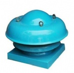 FDW Series Fiber reinforced plastic centrifugal roof fan