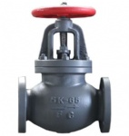 JIS F7353 5K Marine cast iron screw down check globe valve