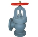 JIS F7312C 5K Marine cast steel screw down check angle valves