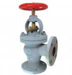 JIS F7472 10K Marine cast steel screw down non return check angle valve